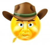 Emoticon Cowboy Graphic