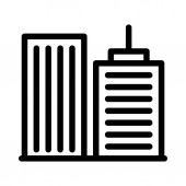 office thin line vector icon