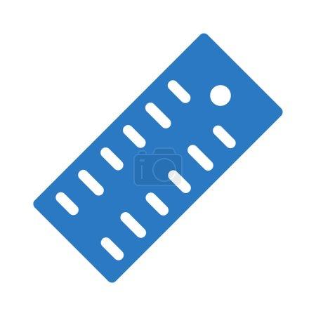 Photo pour Measure  glyph color icon - image libre de droit