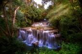 Huai Mae Kamin waterfall in Kanchanaburi