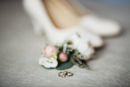 Wedding details. Bride accessories. Groom accessories.