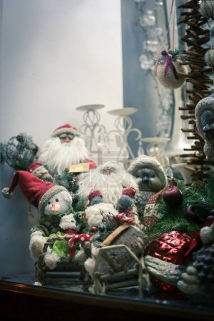 Christmas and Happy new year decoration . Christmas background w