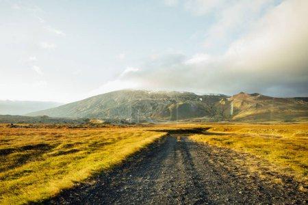 Photo pour Beau paysage islandais. Image superbe du magnifique paysage de nature. Europe de l'Islande. - image libre de droit