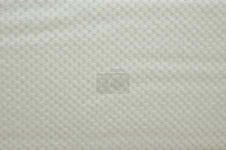 abstrakte weiße Textur der Matratze Bettwäsche Muster Hintergrund.