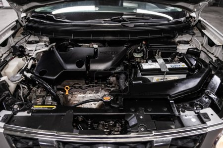 Novosibirsk, Russia  August 24, 2019:  Nissan X-tr...
