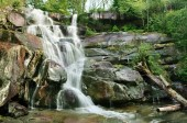 Ramsey Cascades in Gatlinburg, Tennessee, U.S.A.