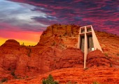 The Chapel of the Holy Cross in Sedona, Arizona, U.S.A.
