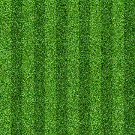 Photo pour Terrain de gazon vert fond pour le football et les sports de football. Modèle de pelouse verte et fond de texture. Image en gros plan . - image libre de droit