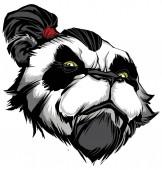 Panda Master on White