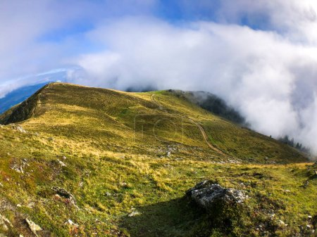 Photo for Cloudporn. Wonderful late summer and autumn mood on Mirnock mountain peak in Carinthia Eastern Alps. - Royalty Free Image