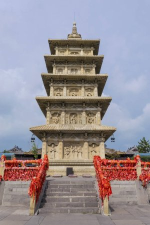 Ancient Architecture Yungang Grottoes in Datong