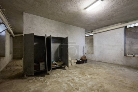 Photo for Dirty basement in old house interior - Royalty Free Image