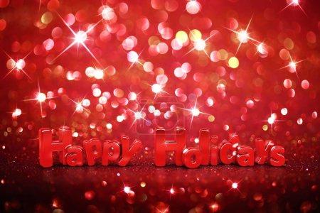 Photo pour Fond paillettes de Noël - Joyeuses fêtes - image libre de droit