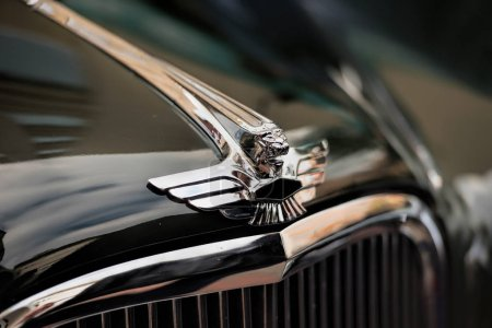 details of vintage cars