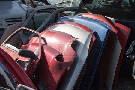 Photo pour Gros plan des disjoncteurs de voiture - image libre de droit