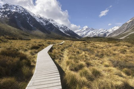 Photo for Hooker Valley in Mt Cook National Park, New Zealand - Royalty Free Image