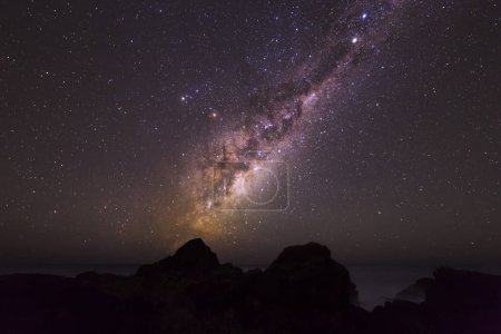 Photo for Scenic view of on night sky with lot of stars - Royalty Free Image