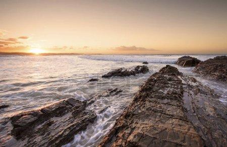 Sunrise on point Cartwright, Sunshine Coast, Queensland, Australia