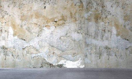 Photo pour Décoration moderne salle de séjour et texture vieux mur de fond - image libre de droit