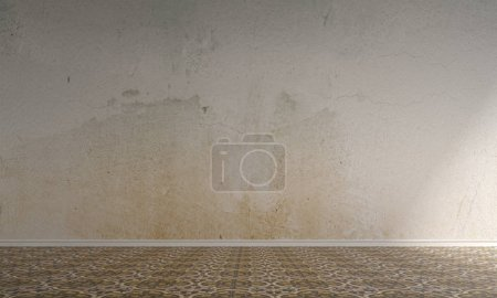 Photo for The empty living room interior design idea and texture wall background - Royalty Free Image