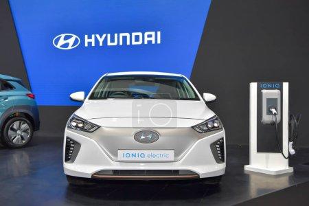 NONTHABURI NOVEMBER 28 Hyundai IONIQ