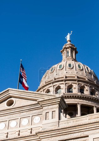 Texas Capitol dome in Austin