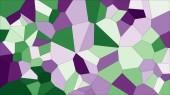 """Постер, картина, фотообои """"Красочные витражи Вороного, абстрактные векторные eps. Фоновый узор нерегулярных клетки. 2D геометрические фигуры сетки - Hd Vetorial 8k"""""""