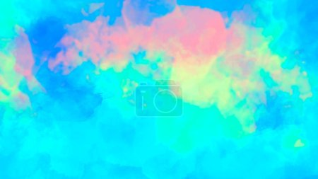 Photo for Colorful abstract watercolor background. - Royalty Free Image