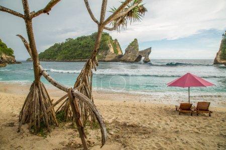 Nusa Penida Beach no people
