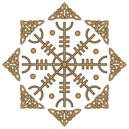 Aegishjalmur, Helm of awe (helm of terror), Icelan...