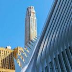New York, USA - March 9, 2020: Architectonic detai...