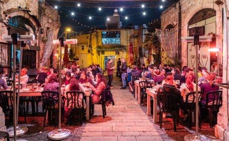 Jerusalem, Israel - March 27, 2019: Church of the holy sepulchre, Jerusalem, Israel