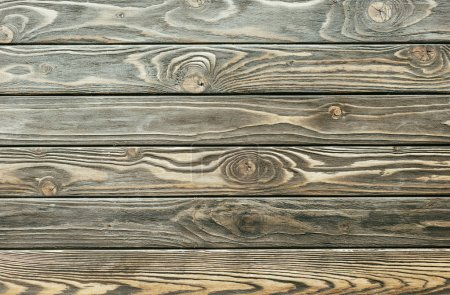 Rustic planks wooden table background