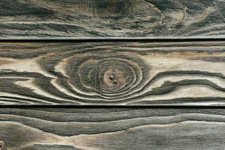 Photo for Texture of wooden table grey planks - Royalty Free Image
