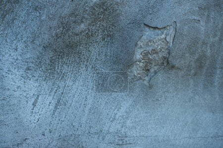close-up view of blank grey rough weathered background