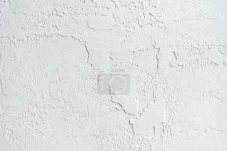 Photo for Full frame view of white abstract wall textured background - Royalty Free Image
