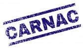 Grunge Textured CARNAC Stamp Seal
