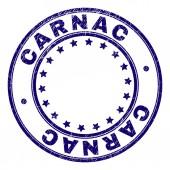 Grunge Textured CARNAC Round Stamp Seal