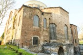 Istanbul, Turkey - 04.03.2019: Hagia Irene church (Aya Irini) in