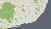 map of the city of Lisbon Portugal