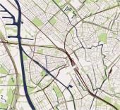 map of the city of Utrecht Netherlands