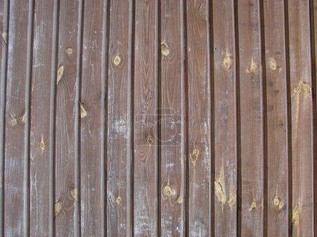 Foto de Textura de fondo de madera vintage con nudos - Imagen libre de derechos