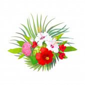 vector tropical pattern clip art