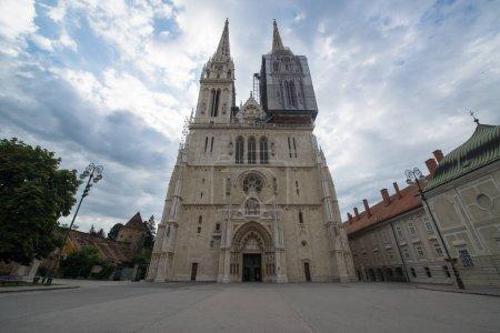 Photo for Zagreb, Croatia, circa july 2016: Cathedral of Zagreb, Croatia - Royalty Free Image