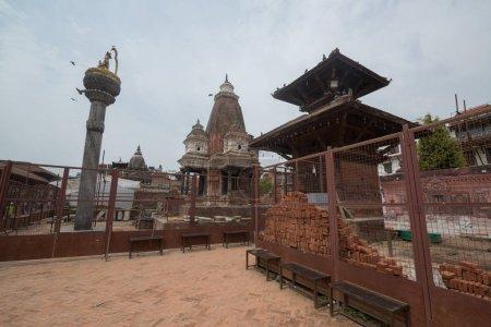Kathmandu, Nepal, circa may 2017: Kathmandu Durbar Square, the UNESCO World Heritage Site