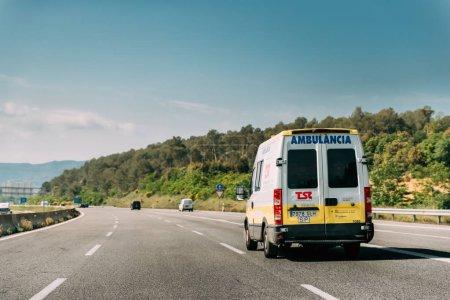 Испанский Скорой Помощи Фургон Iveco