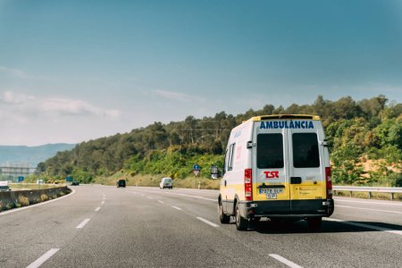 Spanish Emergency Ambulance Van Iveco
