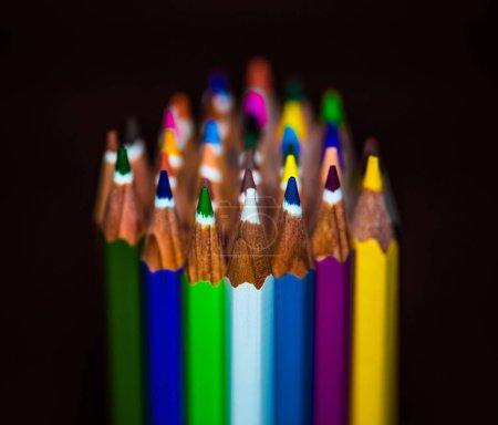 Assorted-Color Wooden Color Pencil Lot