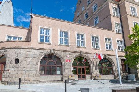 Olsztyn, Poland - May 1, 2018: Civil registration office in Olsztyn.