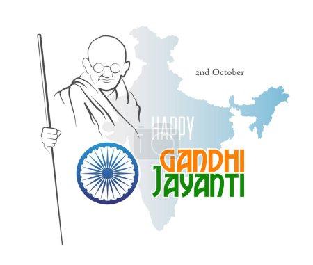 2 Октября Ганди Джаянти Счастливы